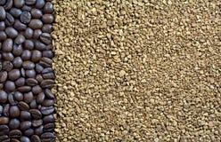 Koffie backgound Stock Afbeeldingen