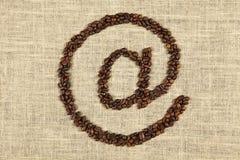 Koffie bij Royalty-vrije Stock Fotografie