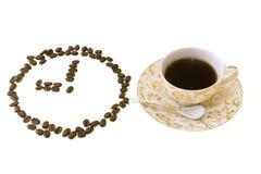 Koffie bij 9p.m. Stock Afbeelding