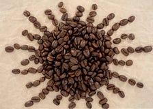 Koffie: Bonen Stock Fotografie