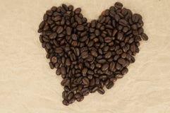 Koffie: Bonen Royalty-vrije Stock Afbeeldingen