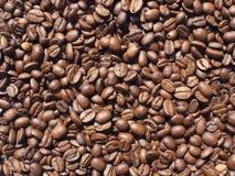 Koffie-bonen achtergrond Royalty-vrije Stock Afbeelding