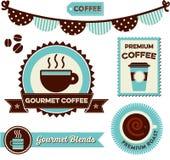 Koffie Clipart Royalty-vrije Stock Foto's