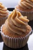 Koffie cupcake Royalty-vrije Stock Foto