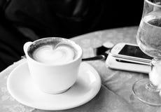 Koffie in de ochtend Royalty-vrije Stock Foto