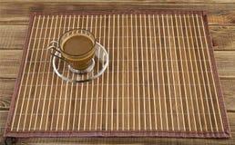 Koffie in een kop Royalty-vrije Stock Foto's