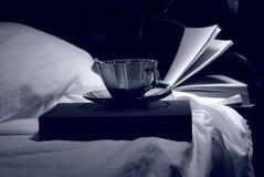 Koffie en boeken Royalty-vrije Stock Fotografie