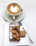 Koffie en Cake Royalty-vrije Stock Afbeeldingen