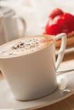 Koffie en dessert royalty-vrije stock foto's