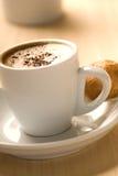Koffie en dessert stock foto