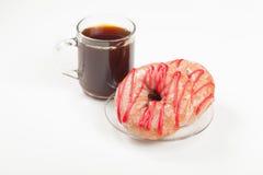 Koffie en Doughnuts Stock Afbeeldingen