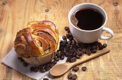 Koffie en Gebakjes royalty-vrije stock foto's