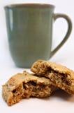 Koffie en Koekje 3 royalty-vrije stock afbeelding