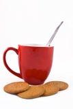 Koffie en koekjes Royalty-vrije Stock Foto
