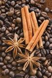Koffie en kruid Royalty-vrije Stock Fotografie