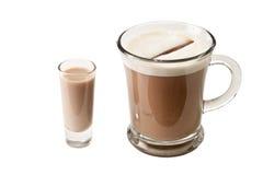 Koffie en schot Royalty-vrije Stock Fotografie