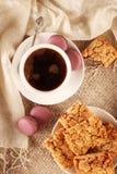Koffie en Snoepjes royalty-vrije stock afbeeldingen