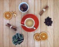 Koffie en suiker Royalty-vrije Stock Fotografie