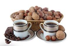 Koffie en thee Royalty-vrije Stock Fotografie