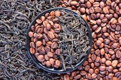 Koffie en thee Stock Fotografie