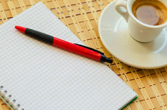 Koffie en Zaken Stock Afbeeldingen