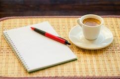 Koffie en Zaken Stock Afbeelding