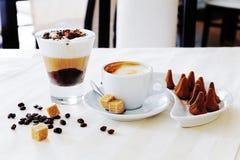 Koffie en zweet Royalty-vrije Stock Fotografie