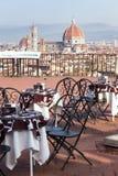 Koffie in Florencia royalty-vrije stock foto's