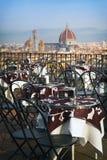 Koffie in Florencia royalty-vrije stock foto