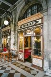 Koffie Florian, Venetië Italië Stock Afbeelding