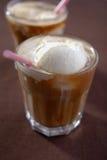 Koffie glace Stock Afbeeldingen