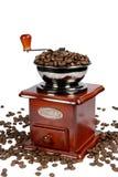 Koffie-Grinder3 royalty-vrije stock fotografie