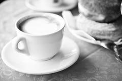 Koffie in Italië Royalty-vrije Stock Afbeeldingen