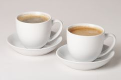 Koffie - Kaffee royalty-vrije stock afbeelding