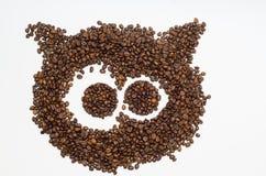 Koffie, koffiebonen royalty-vrije stock foto