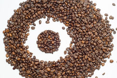 Koffie, koffiebonen royalty-vrije stock fotografie