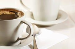 Koffie in kop Royalty-vrije Stock Afbeelding