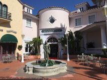 Koffie LaBamba, Universele Studio's, Orlando, FL royalty-vrije stock afbeelding