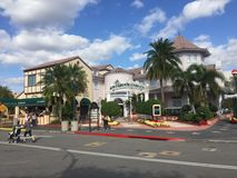 Koffie LaBamba, Universele Studio's, Orlando, FL stock foto's