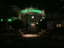 Koffie LaBamba, Universele Studio's, Orlando, FL stock afbeelding
