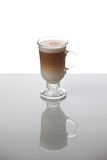 Koffie latte royalty-vrije stock foto's