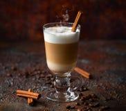 Koffie Latte stock fotografie