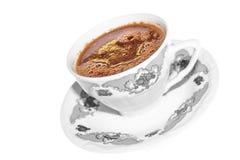 Koffie met chocolade Stock Afbeeldingen