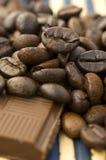 Koffie met chocolade Royalty-vrije Stock Fotografie