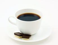 Koffie met chocolade Stock Afbeelding
