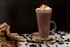 Koffie met kaneel Stock Foto