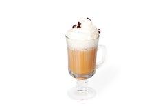 Koffie met likeur Stock Foto's