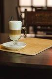 Koffie met melk Royalty-vrije Stock Foto