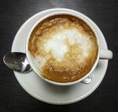 Koffie met melk Stock Foto