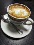 Koffie met melk Royalty-vrije Stock Fotografie